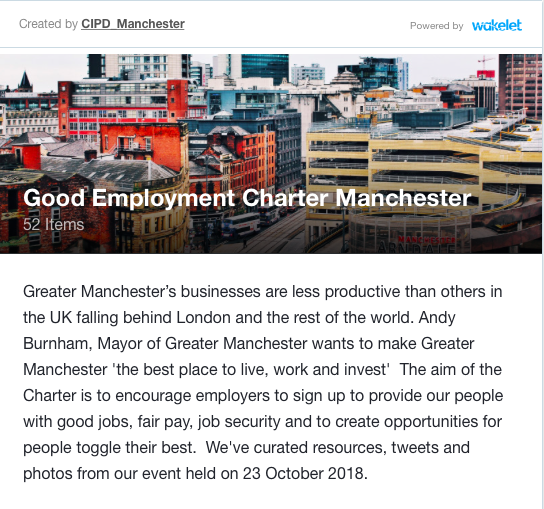 CIPD Manchester Wakelet