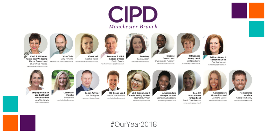 CIPD Manchester Branch Committee 2018-2019