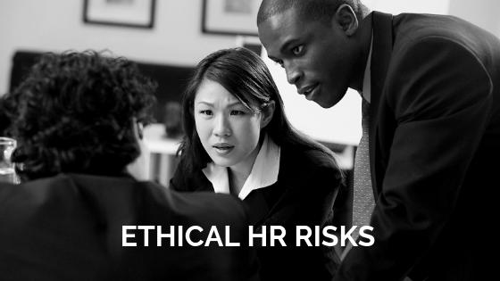 Ethical risks inHR