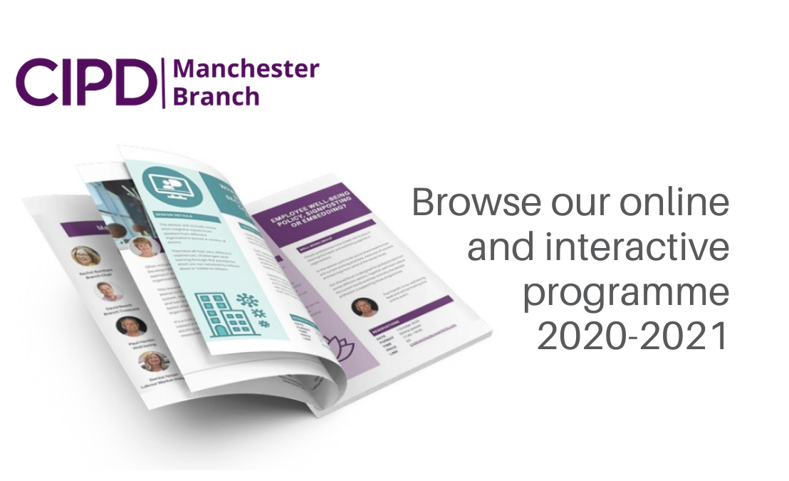 Programme of activities 2020 – 2021 for People Professionals in Manchester
