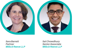 Sara Barrett and Sal Chowdhury speaking for CIPD Manchester Branch on the recent and forthcoming legislative changes and case law developments