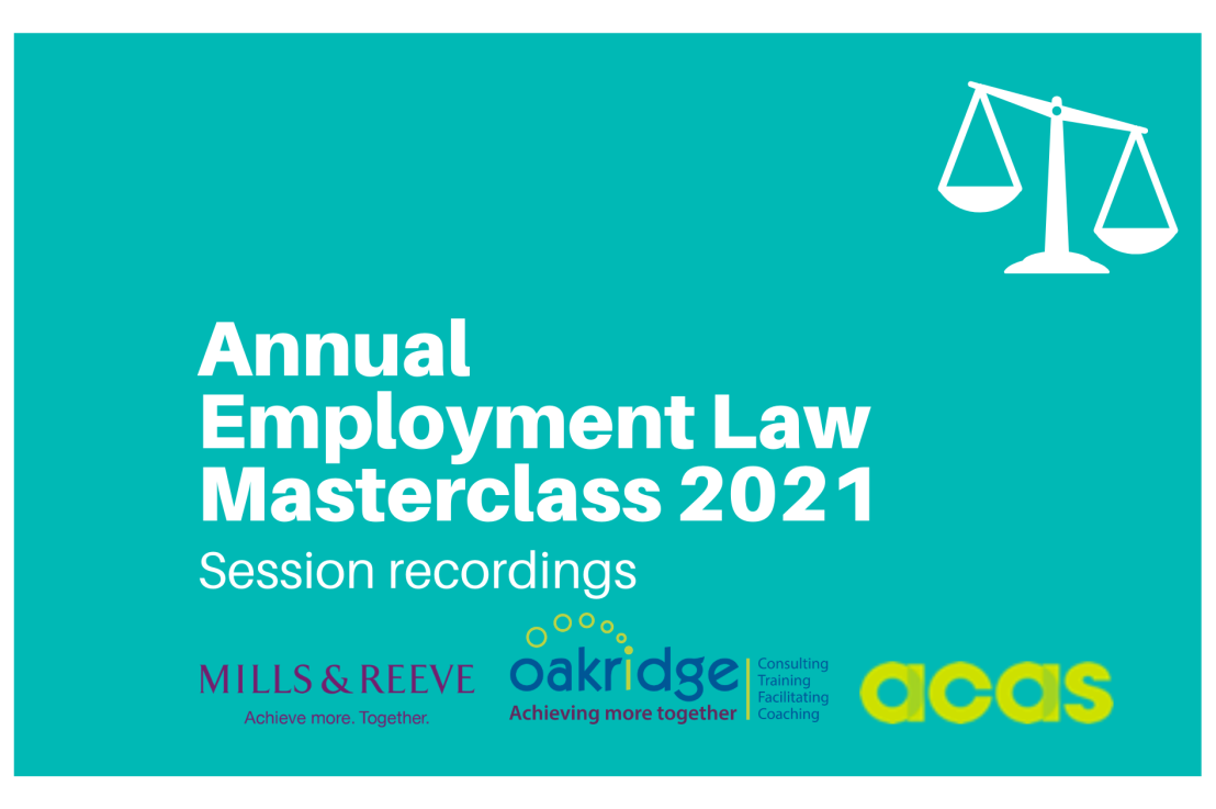 Annual Employment Law Masterclass 2021